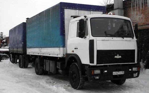 МАЗ-5336: технические характеристики