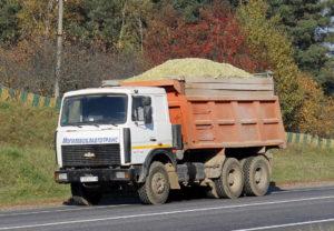 Рулевое управление и тормозные системы грузовика «МАЗ-5516»