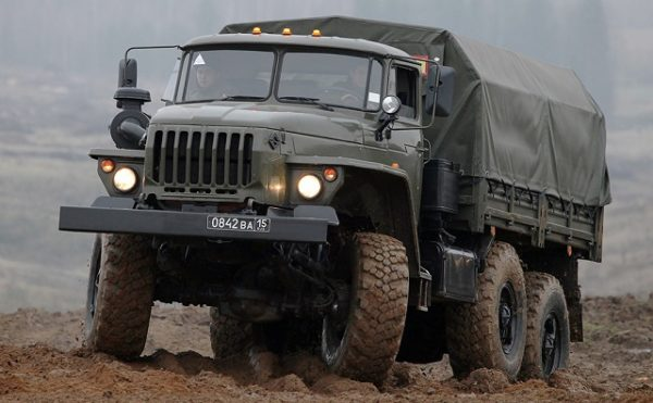 Урал-4320 Технические характеристики