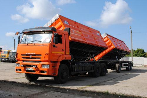 Новые модификации на основе «КамАЗ-6520»