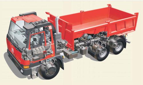 Обзор серии «Татра-815» и основные особенности машин-01