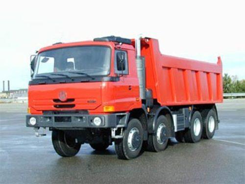 Основные модификации и двигатели самосвалов «Татра-815»-01