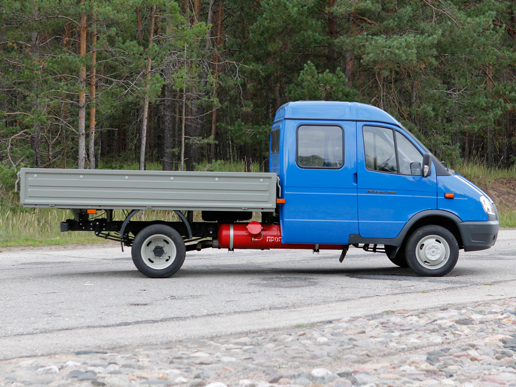 Трансмиссия, подвеска «ГАЗ-330232»