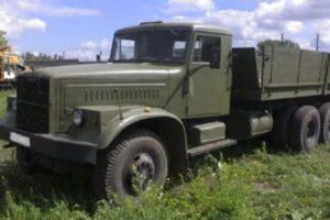КрАЗ-257 Технические характеристики