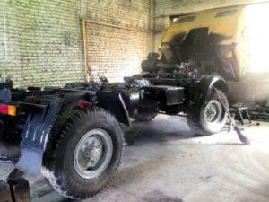 Двигатель и трансмиссия «КАЗ-4540»