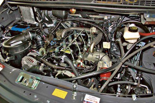 Двигатели ГАЗ-2752 «Соболь»-01
