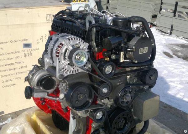 Двигатели «Газель Некст»-01
