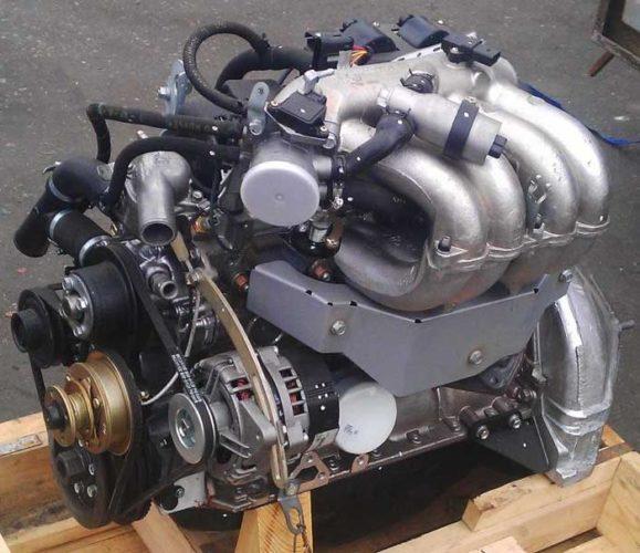 Двигатели микроавтобусов «ГАЗ-322132»-01