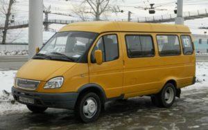 ГАЗ-322132: технические характеристики