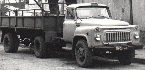 Изменения внешнего вида «ГАЗ-52»