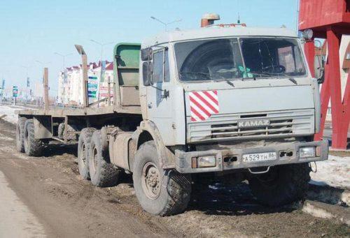 «КамАЗ-44108» после рестайлинга 2009-2010 годов: тот же, но как новый