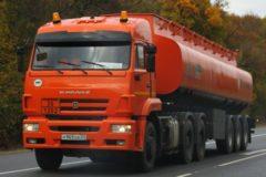 КамАЗ-6460: технические характеристики