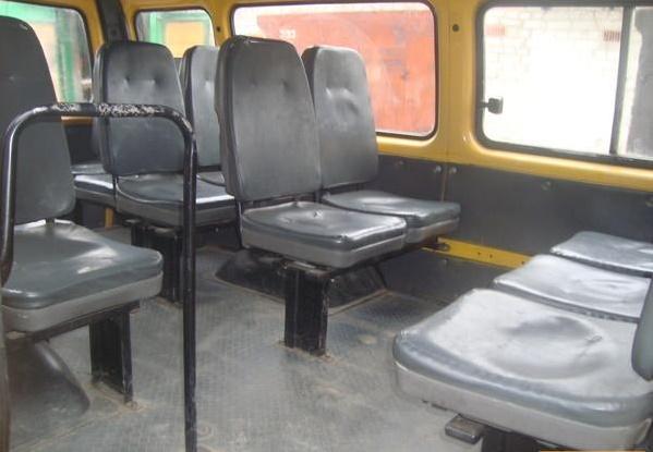 Рулевое и тормозное управление, компоновка салона «ГАЗ-322132»-01