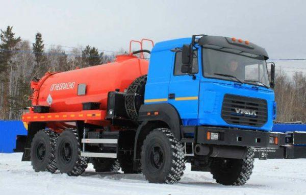 Технические характеристики «Урал-6370» в цифрах