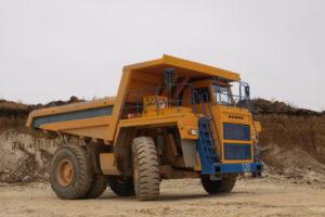 БелАЗ-7555В Технические характеристики