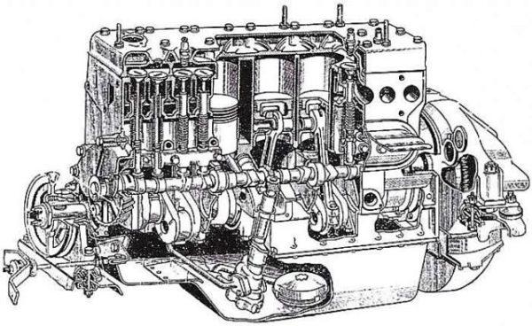 Двигатель «ЗИЛ-164»-02