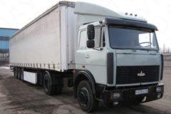 МАЗ-54323 Технические характеристики