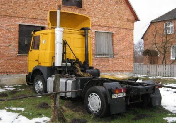 Подвеска и ходовая часть «МАЗ-54323»