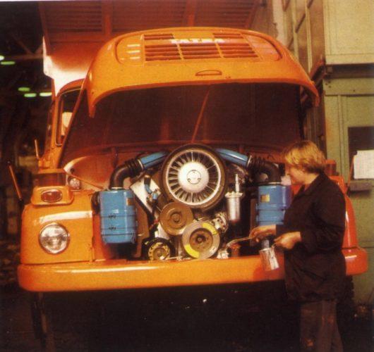 Двигатель «Татры-418»