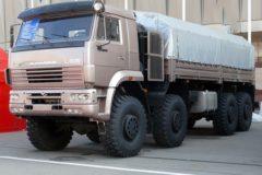 КамАЗ-6560 технические характеристики