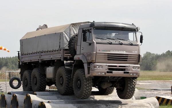 Трансмиссия и мосты «КамАЗ-6560»