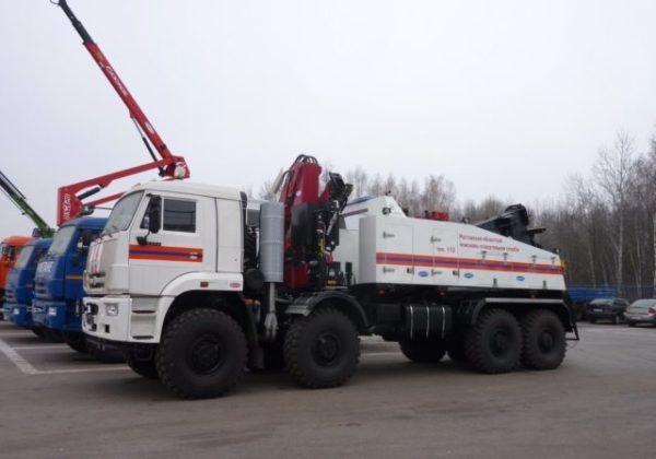 Варианты комплектации «КамАЗ-6560». На службе в Вооружённых Силах РФ