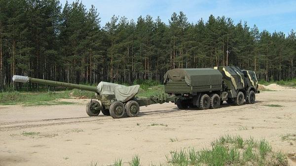 Артиллерийский тягач «Медведь»