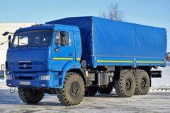 КамАЗ-43118: технические характеристики
