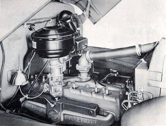 Фото 7. Так маркировался двигатель Геркулес на Студебекере.