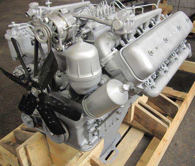 Двигатель скрепера «МоАЗ-6014»