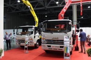 JAC MOTORS подвела итоги участия в выставке Bauma