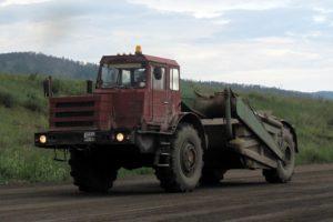 Скрепер МОАЗ-6014: технические характеристики