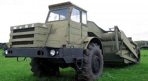 Трансмиссия. Рулевая и тормозная системы «МоАЗ-6014»
