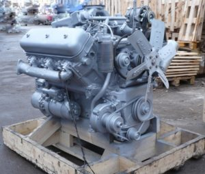 Двигатель грузовика «МАЗ-5549»