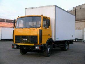 Грузовая платформа и прицеп «МАЗ-5337»-01