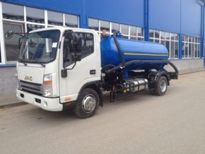 О комплектации грузовиков «JAC N75»
