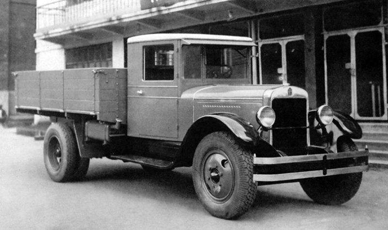 Автомобиль АМО-3 (АМО-2)