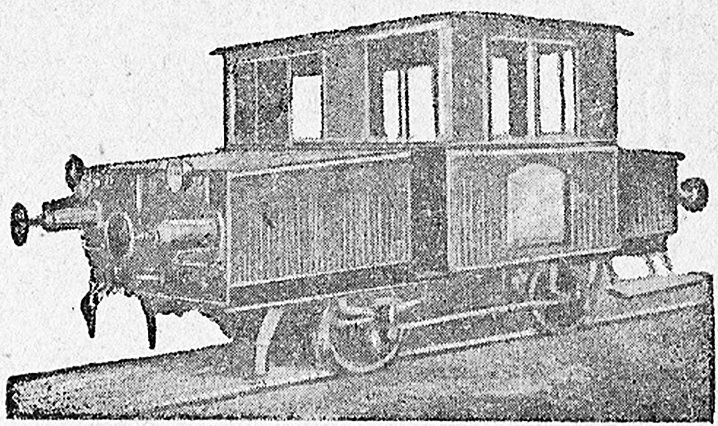 Мотовоз с агрегатами грузовика АМО-3