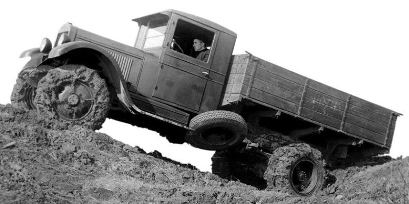 Полноприводный грузовик ЗИС-32 (4х4)