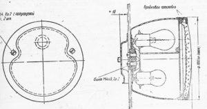 Унифицированный грузовой фонарь ФП-13