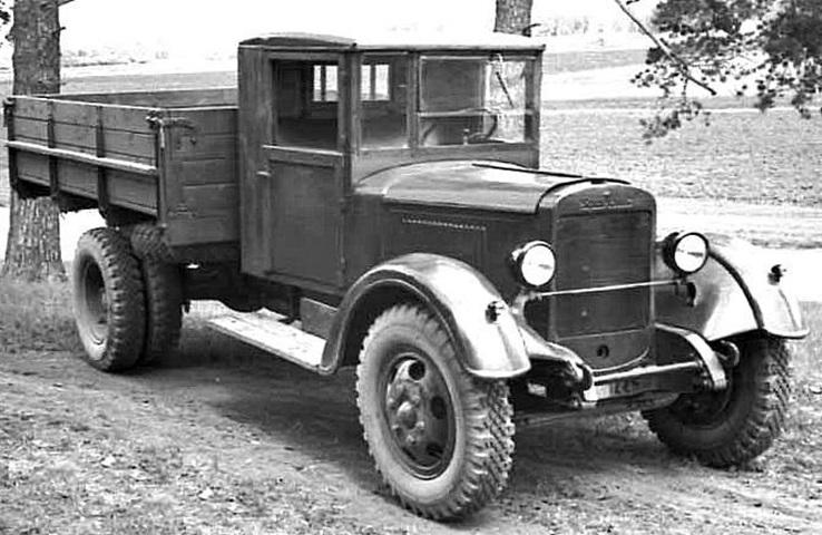 Автомобили УралЗИС-355