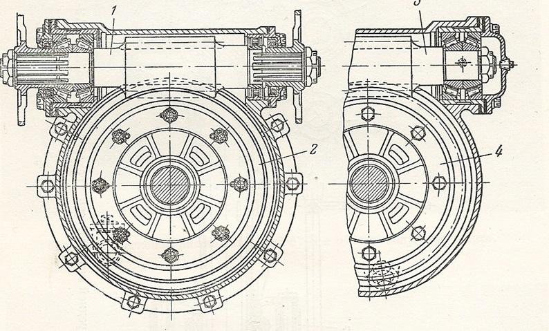 Унифицированные червячные главные передачи машин ГАЗ-ААА и ЗИС-6