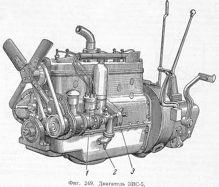 Двигатель ЗИС-5