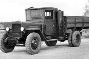 Газогенераторные автомобили ГАЗ-42 и ЗИС-21