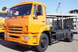 КамАЗ-43253: технические характеристики