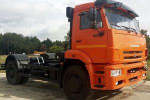 КамАЗ-53605: технические характеристики