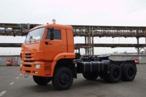 КамАЗ-65225: технические характеристики