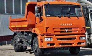 Самосвальная грузовая платформа КамАЗ-53605