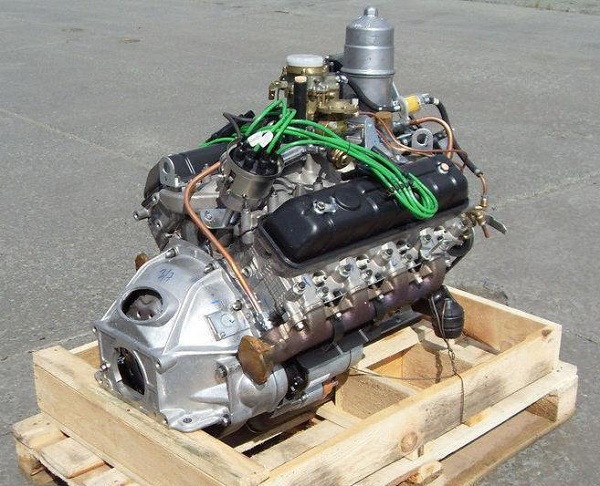 Двигатели ГАЗ-3307-01