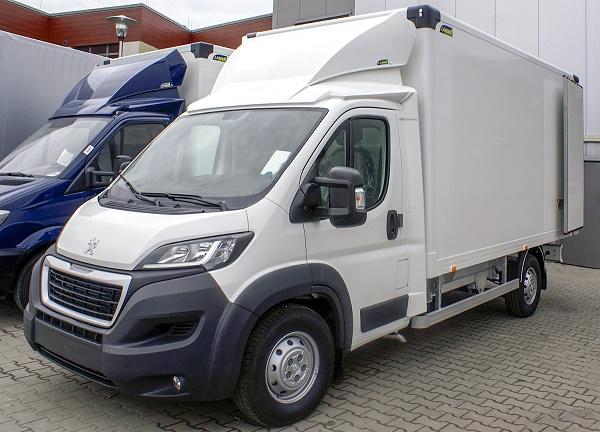 Стоимость Peugeot Boxer в 2018 году
